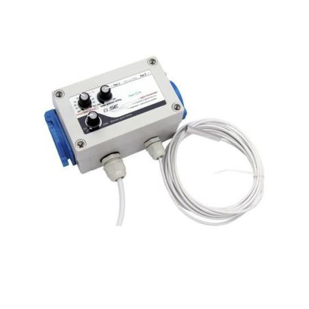 Temperature Controller, minimum and maximum speed and hysteresis