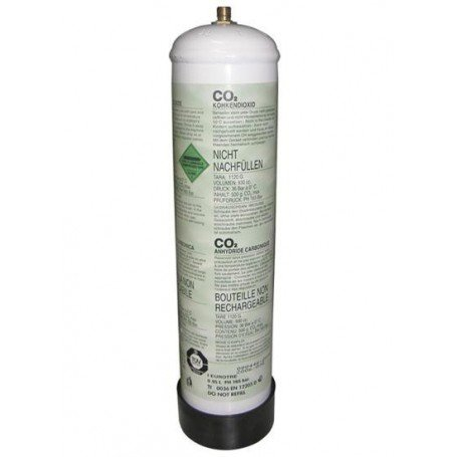 Bouteille CO2 de jetables 1kg.