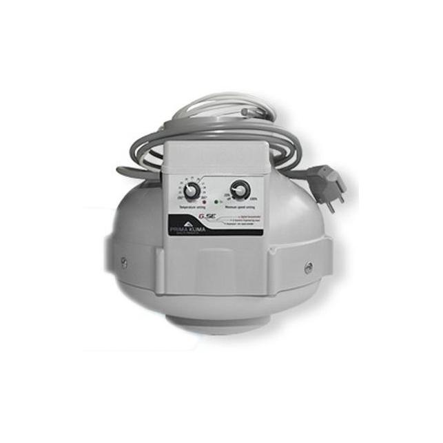 Extractor Prima Klima 125 con control de temperatura