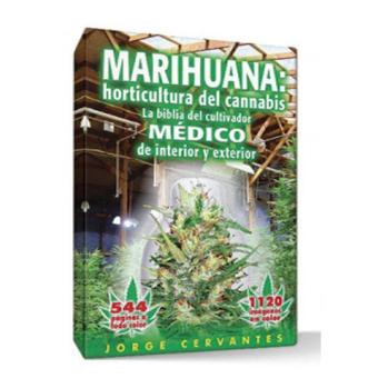 Libro Horticultura del Cannabis J.Cervantes