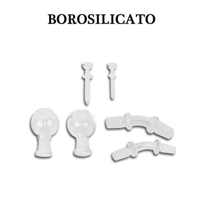 Borosilicato y complementos BHO