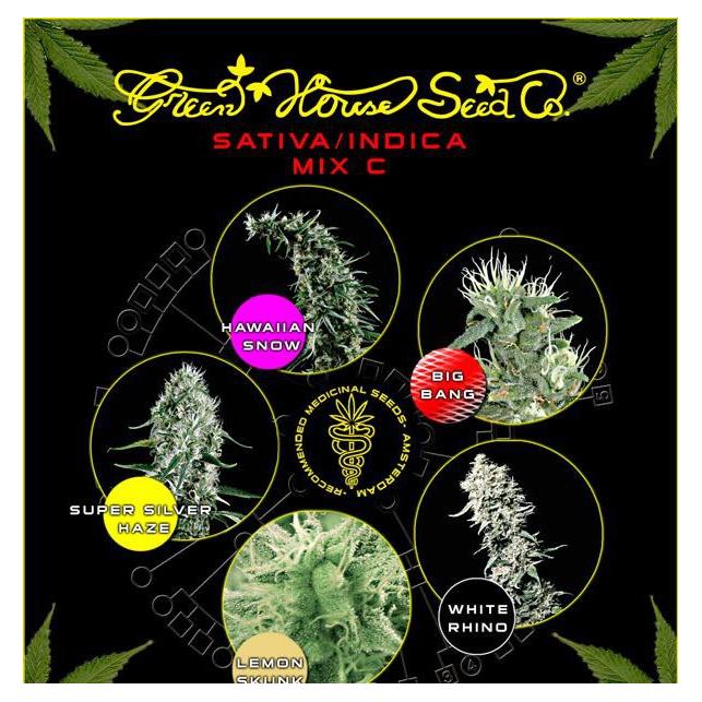 Sativa/Indica Mix C