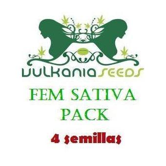 Sativa Feminizada PACK