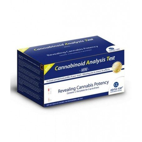 Alpha-cat mini-kit analisis de cannabinoides