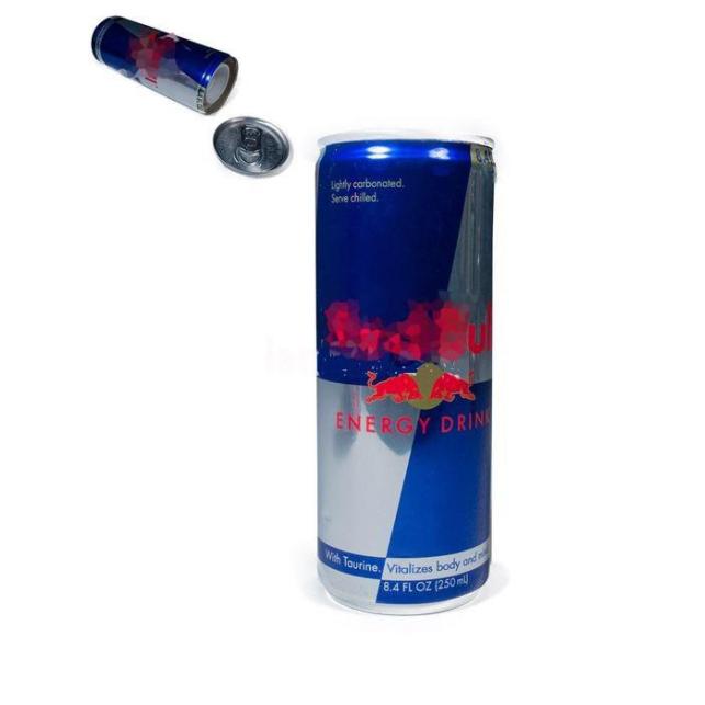 Canette boisson énergétique