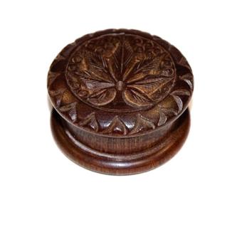 Grinder engraved rosewood