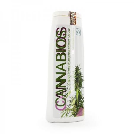 Cannabios Shower Gel and Shampoo