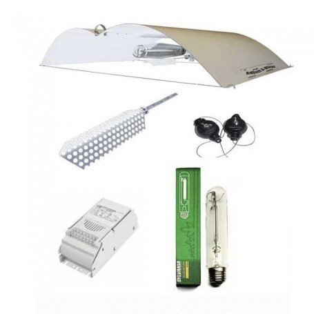 Kit d 39 clairage adjust a wings blanc 250w culture de for Kit culture cannabis interieur