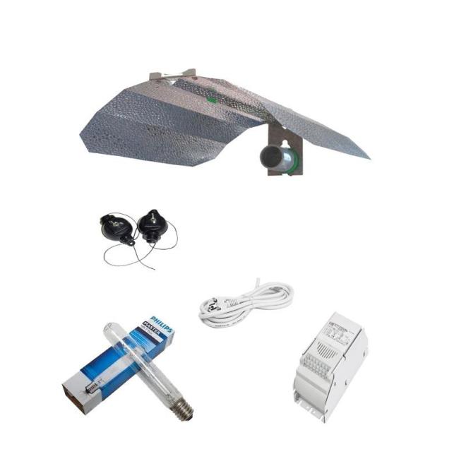 kit de iluminación Philips de 250W Crecimiento