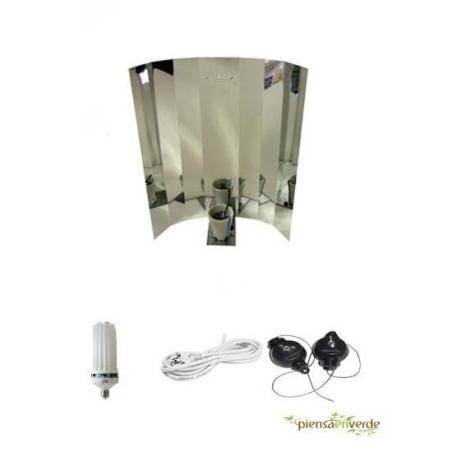 Kit de iluminación bajo consumo 125W Crecimiento