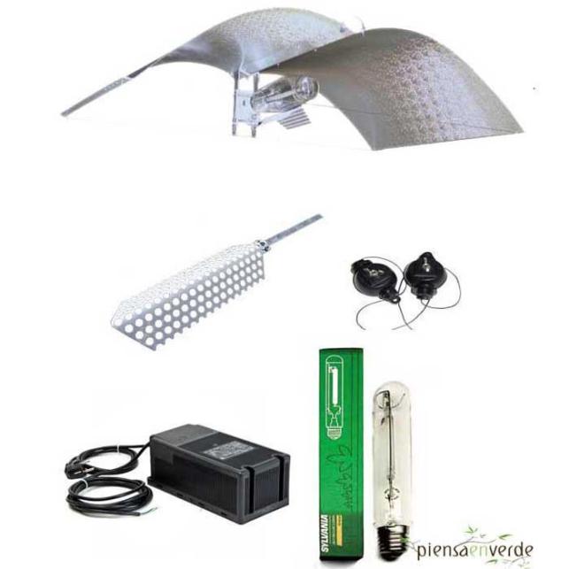 Kit de iluminación Adjust-a-wings Medium PRO 400W Floración