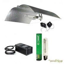 Kit de iluminación Adjust a Wings Mediano Stuco 600W Floración