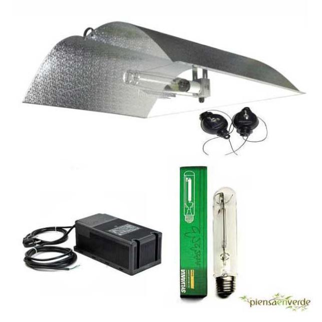 Kit de iluminación Adjust a Wings Mediano Stuco 600W Floración