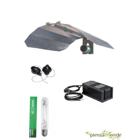 Kit de iluminación 600W Sylvania grolux Mixto