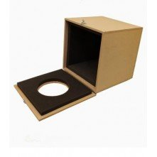 Anti-noise box for the extractor