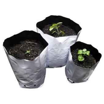 White LDPE Grow Plastic Bags