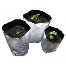 White LDPE Grow Plastic Bags
