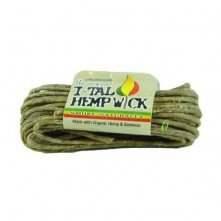 HempWick waxed hemp string