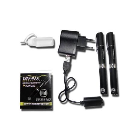 Electronic Cigarette Kit Black Maxi Evap