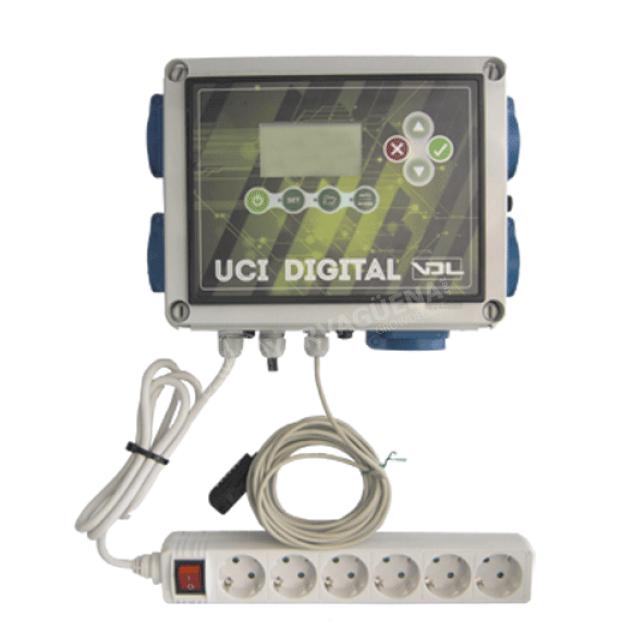 Controlador de Cultivo UCI Digital Temperatura y Humedad