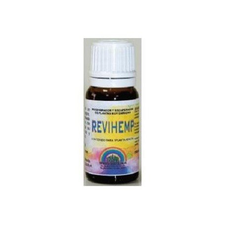 Revihemp, increases the natural defenses of plants and its ability to retain moisture and nutrients....