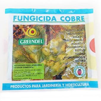 Fongicide Greendel cuivre pour les champignons / algues / bactéries (30g)