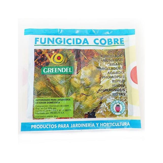 Fungicida Greendel Cobre para Hongo/Algas/Bacterias (30g)