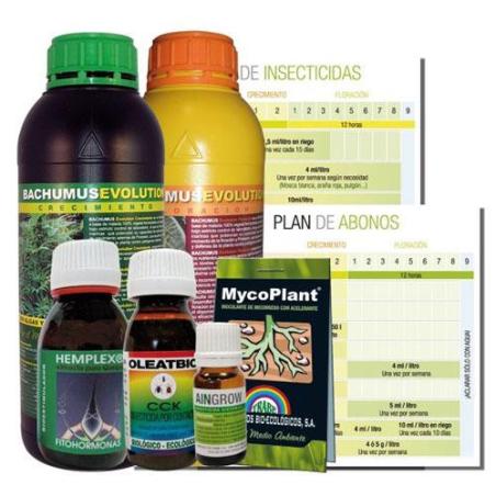 Kit de Abonos/Insecticidas para el Cultivo Evolution Protection Trabe