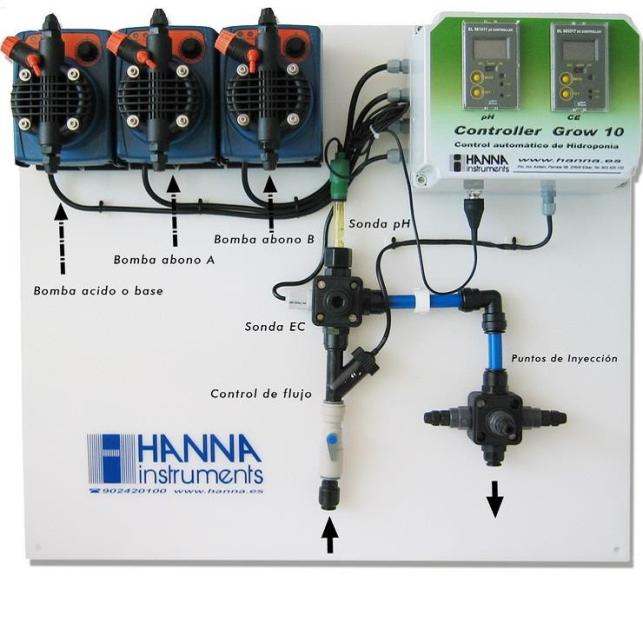 Controlador Hanna Grow 10