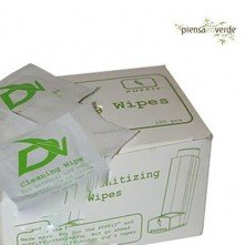 Wipes of cleanliness and disinfecting vaporizers