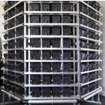 Pi-Rack Vertical Hydroponic System