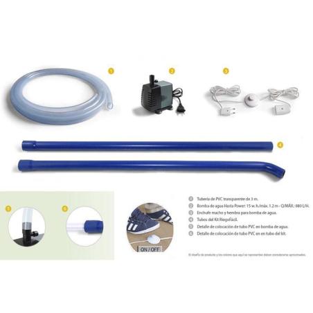 Easy irrigation kit + Bomb
