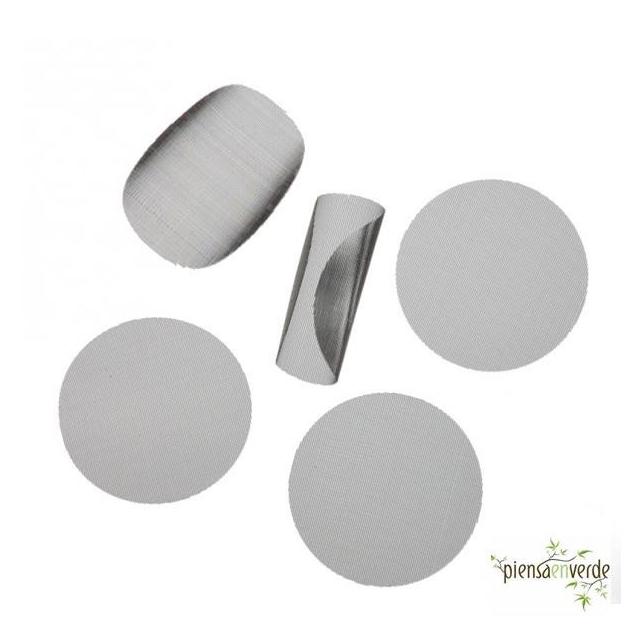 Filtro de acero para resina