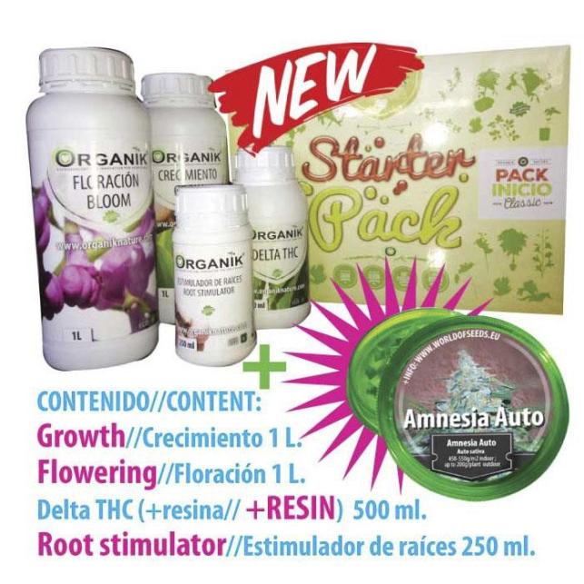 Starter Pack Organik / Kit Inicio Fertilizantes