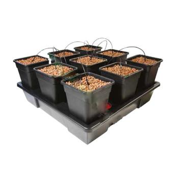 Wilma V2 XXL hydroponic system  (9 pots x 18 liters)