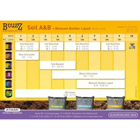 B´CUZZ SOIL BOOSTER PACKAGE