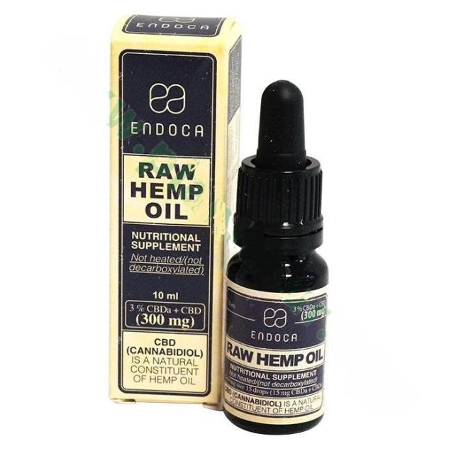 Aceite CBD (3%) Raw Endoca 10ml