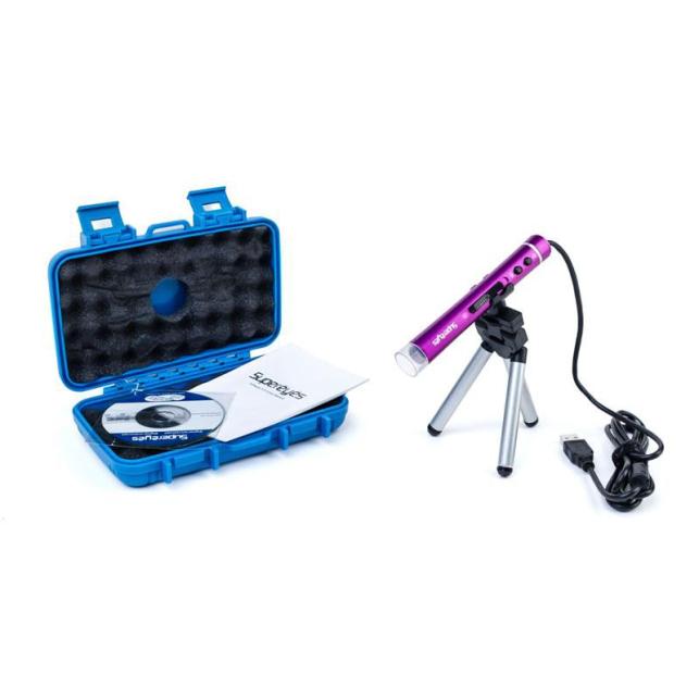 Microscopio USB 200x o 400x