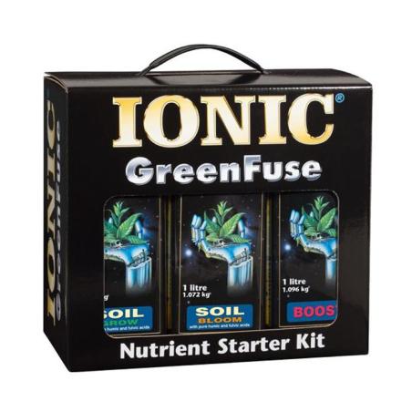 Starter Kit Soil Ionic /Productos a base de sustancias naturales