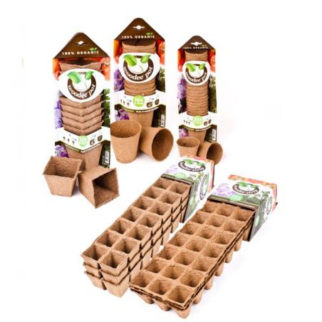Macetas Woodee Pots