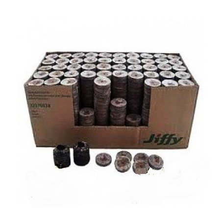 Caja de turba prensada Jiffy 24MM