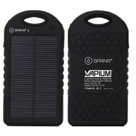 Cargador Solar vaporizador Vapium