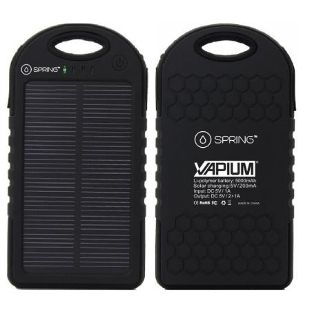 Solar Charger Vapium Vaporizer