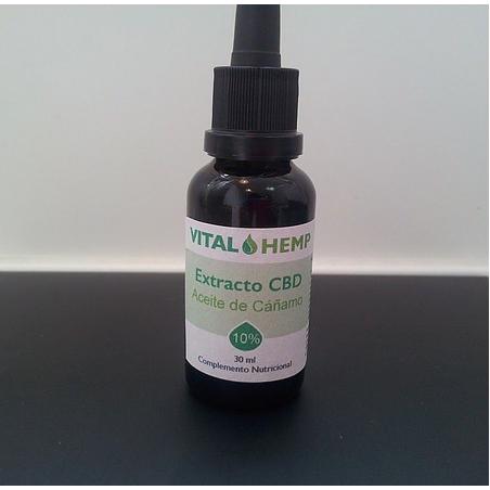 Aceite de Cañamo VITAL HEMP CBD 10%