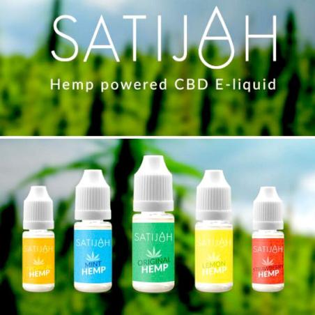 E-Liquid Satijah Hemp CBD