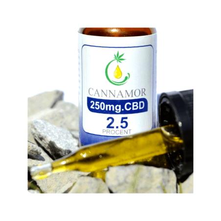 Aceite de Cáñamo Canamor CBDA 2,5%
