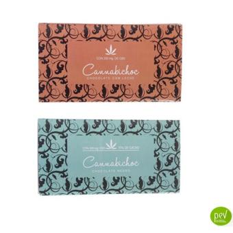 Cannabichoc Naturflow chocolate con cañamo