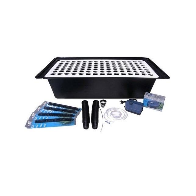 Système de clonage hydroponique avec plateau alvéolaire 36/105