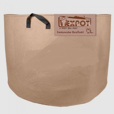 Tex Pot Urban sand colored pot