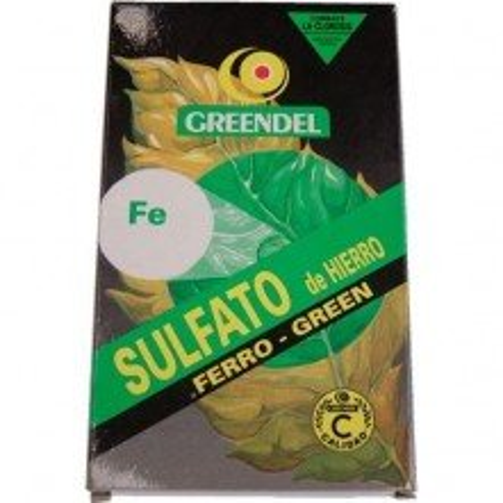 Sulfato de Hierro Greendel 100gr
